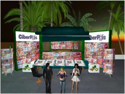 AVIE monta para Ciberpaís un quiosco virtual en Second Life
