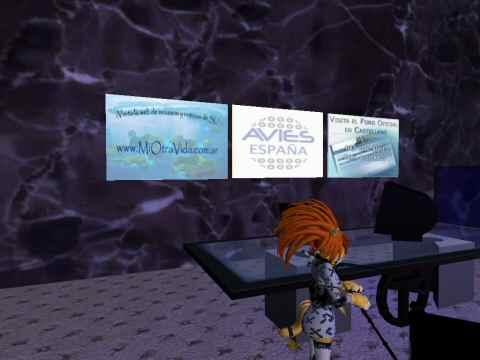 Preparada la oficina española de AVIE + QTLabs en Second Life